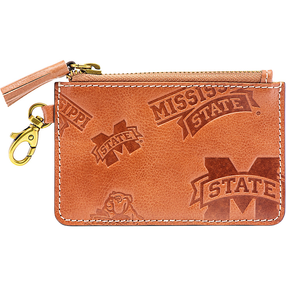 Jack Mason League NCAA Sideline Zip Coin Wallet Mississippi State Bulldogs - Jack Mason League Designer Handbags - Handbags, Designer Handbags