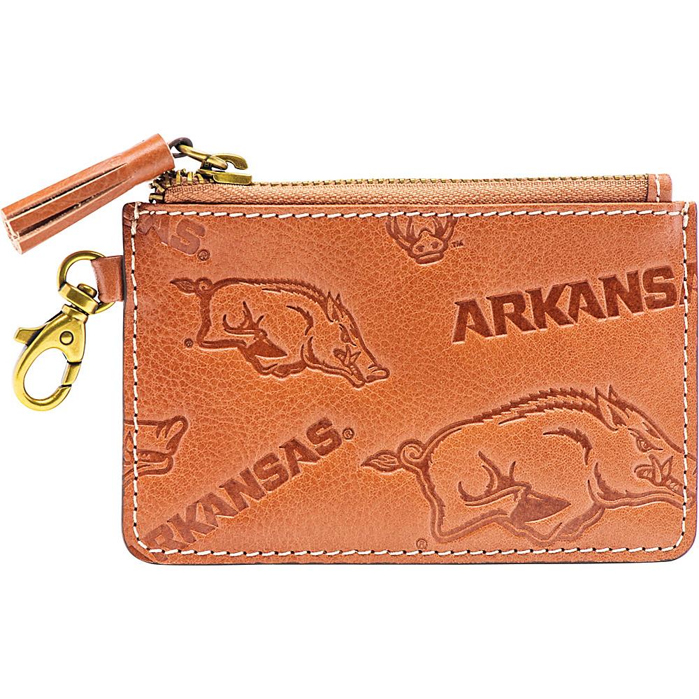 Jack Mason League NCAA Sideline Zip Coin Wallet Arkansas - Jack Mason League Designer Handbags - Handbags, Designer Handbags
