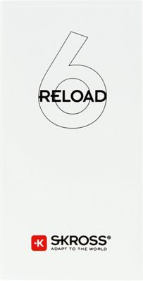 SKROSS Reload 6 Powerbank White - SKROSS Portable Batteries & Chargers