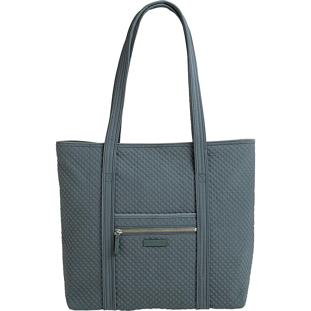 Vera Bradley Iconic Vera Tote - Solids Charcoal - Vera Bradley Fabric Handbags - Handbags, Fabric Handbags