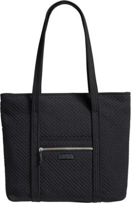 Vera Bradley Iconic Vera Tote - Solids Classic Black - Vera Bradley Fabric Handbags