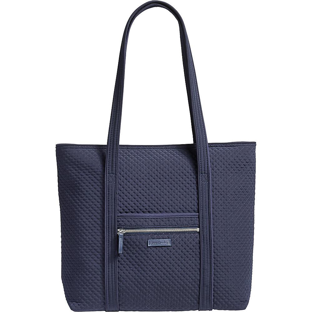 Vera Bradley Iconic Vera Tote - Solids Classic Navy - Vera Bradley Fabric Handbags - Handbags, Fabric Handbags