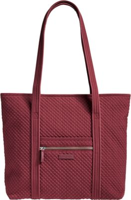 Vera Bradley Iconic Vera Tote - Solids Hawthorn Rose - Vera Bradley Fabric Handbags