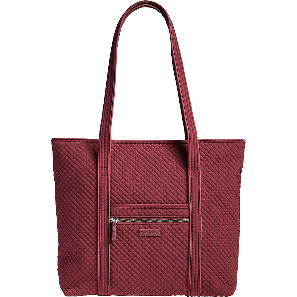 Vera Bradley Iconic Vera Tote - Solids Hawthorn Rose - Vera Bradley Fabric Handbags - Handbags, Fabric Handbags