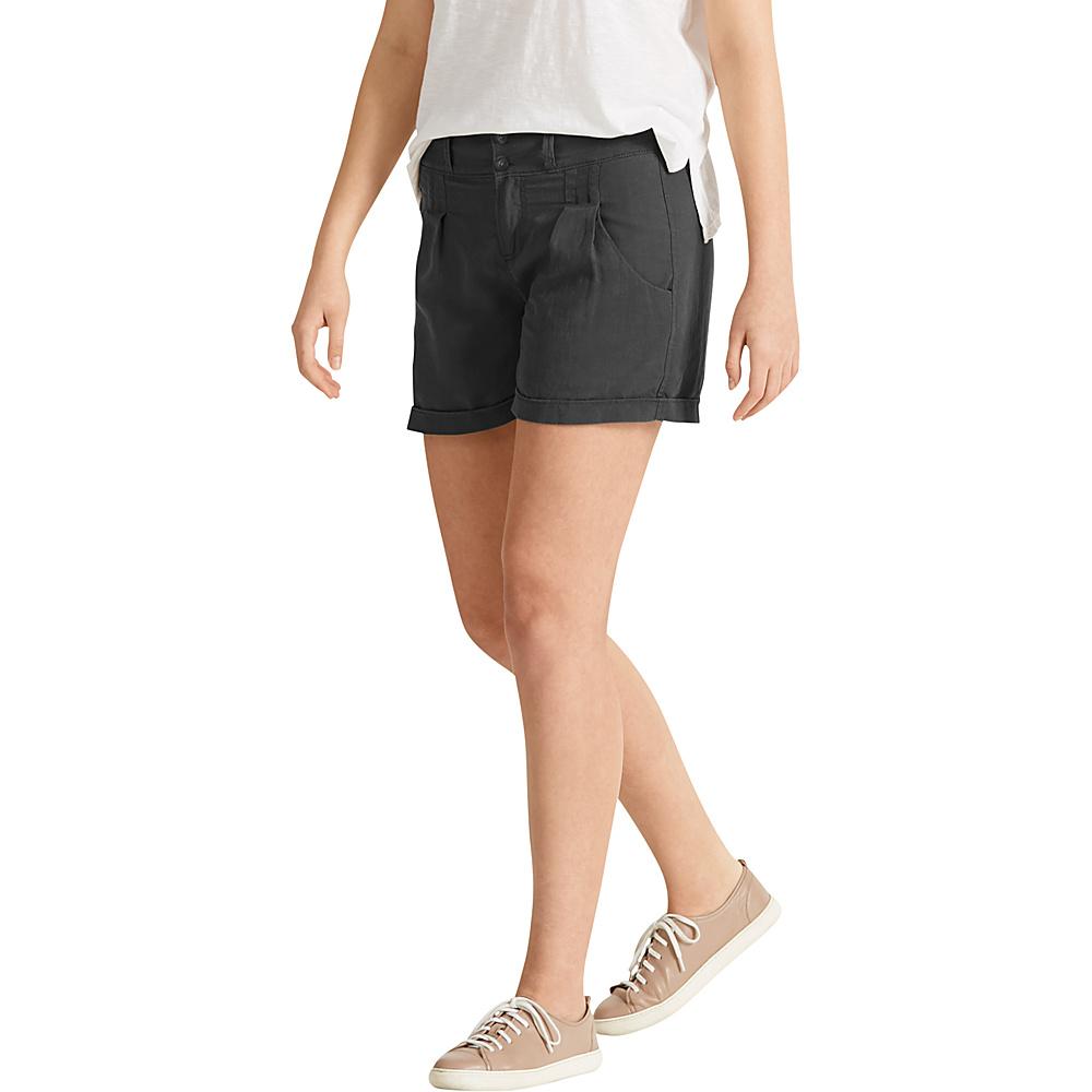 NAU Clothing Womens Flaxible Short 6 - Caviar - NAU Clothing Womens Apparel - Apparel & Footwear, Women's Apparel