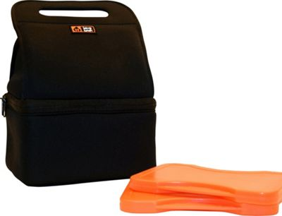 Lava Lunch Duo Heated Lunch Tote Black - Lava Lunch Travel Coolers
