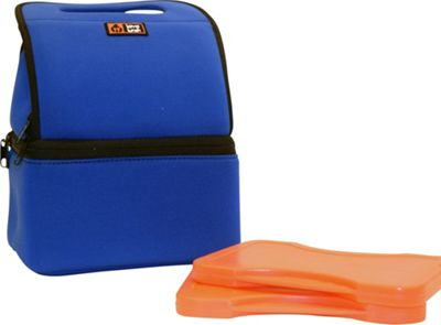 Lava Lunch Duo Heated Lunch Tote Blue - Lava Lunch Travel Coolers