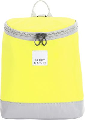 Perry Mackin Toddler Harness Backpack Neon Yellow - Perry Mackin Kids' Backpacks