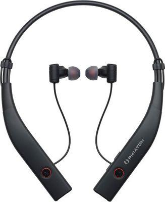 Phiaton Bluetooth 100 Wireless & Active Noise Cancelling Neckband Style Earphones Black - Phiaton Headphones & Speakers
