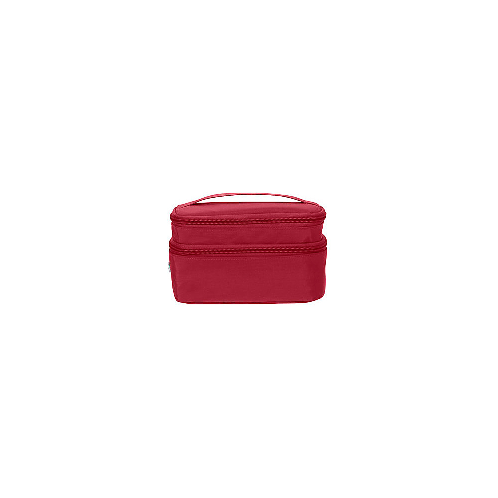 baggallini Small Train Case - Retired Colors Apple - baggallini Toiletry Kits - Travel Accessories, Toiletry Kits