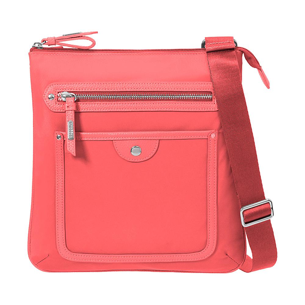 baggallini Highland Slim Crossbody - Retired Colors Coral - baggallini Fabric Handbags - Handbags, Fabric Handbags