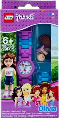 LEGO Watches Olivia Kids Buildable Watch with Link Bracelet and Minifigure Purple - LEGO Watches Watches