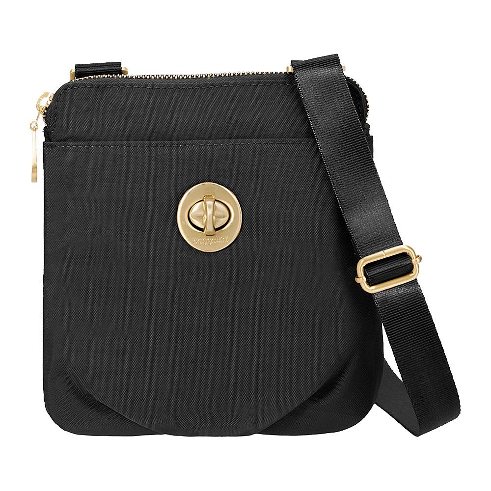 baggallini RFID Mini Hanover Crossbody Black - baggallini Fabric Handbags - Handbags, Fabric Handbags