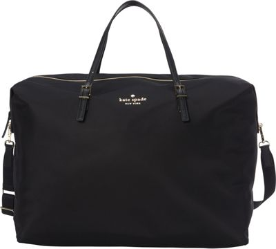 kate spade new york Watson Lane Large Lyla Weekender Black - kate spade new york Travel Duffels