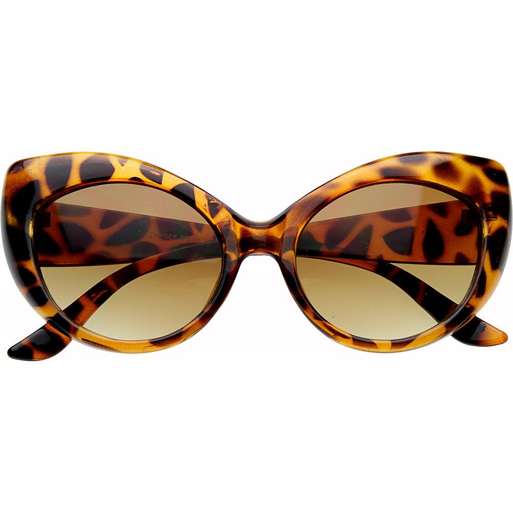 SW Global Fay Cateye Fashion Sunglasses Leopard - SW Global Eyewear - Fashion Accessories, Eyewear