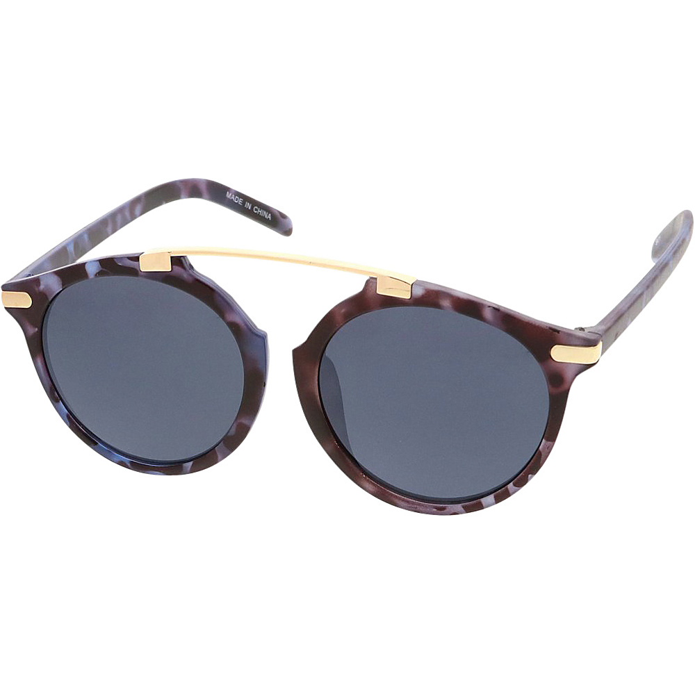 SW Global Womens Retro Fashion Dapper Frame Brow Bar Sunglasses Model 71 Brown - SW Global Eyewear - Fashion Accessories, Eyewear