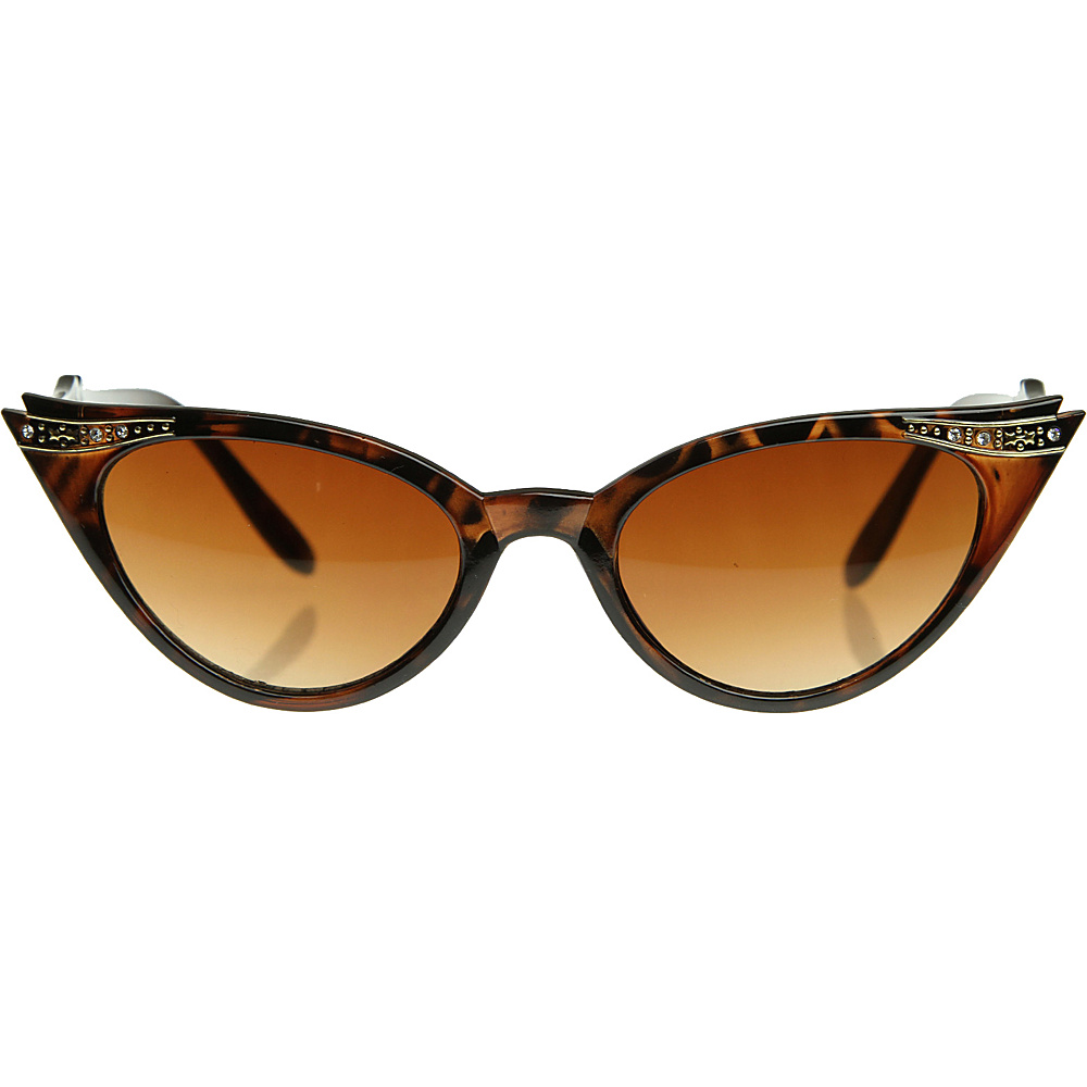 SW Global Avery Cateye Fashion Sunglasses Leopard - SW Global Eyewear - Fashion Accessories, Eyewear