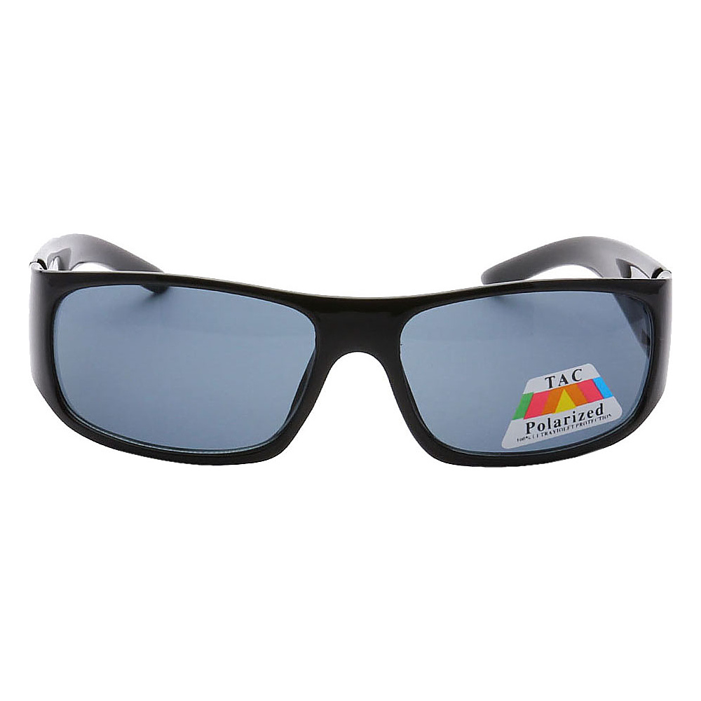 SW Global Sporty Square Framed UV400 Sunglasses Black Black - SW Global Eyewear - Fashion Accessories, Eyewear