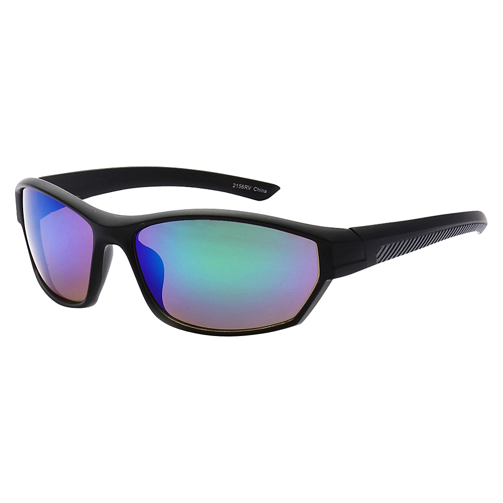 SW Global Full Framed Outdoors Sports UV400 Sunglasses Black Black Purple Blue Green - SW Global Eyewear - Fashion Accessories, Eyewear