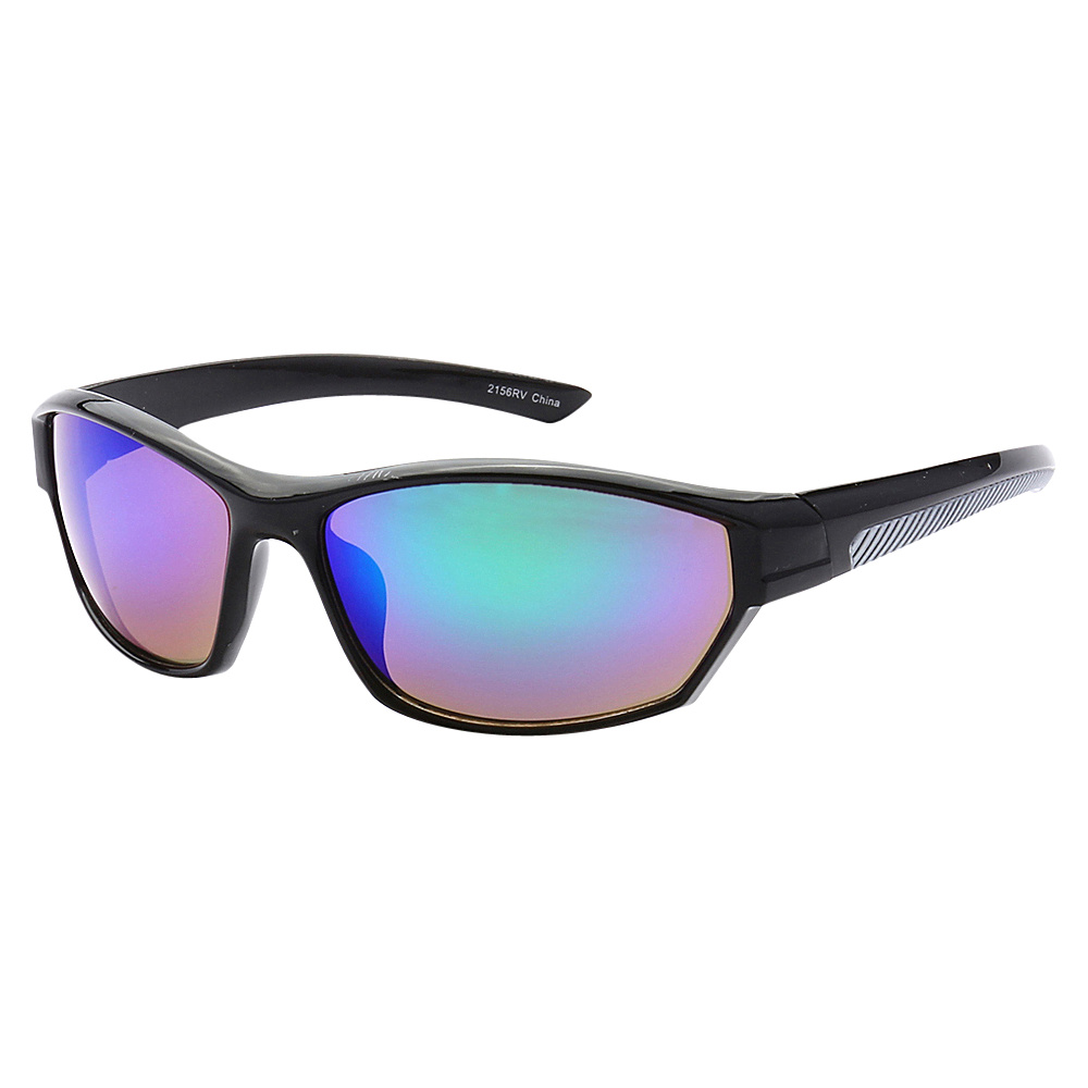 SW Global Full Framed Outdoors Sports UV400 Sunglasses Black Grey Purple Blue Green - SW Global Eyewear - Fashion Accessories, Eyewear