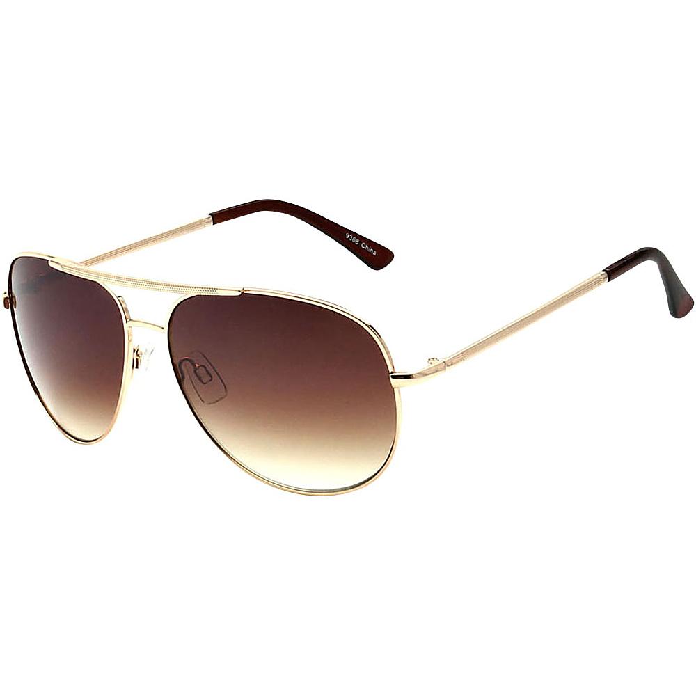 SW Global Showdown Aviator Sunglasses Brown - SW Global Eyewear - Fashion Accessories, Eyewear