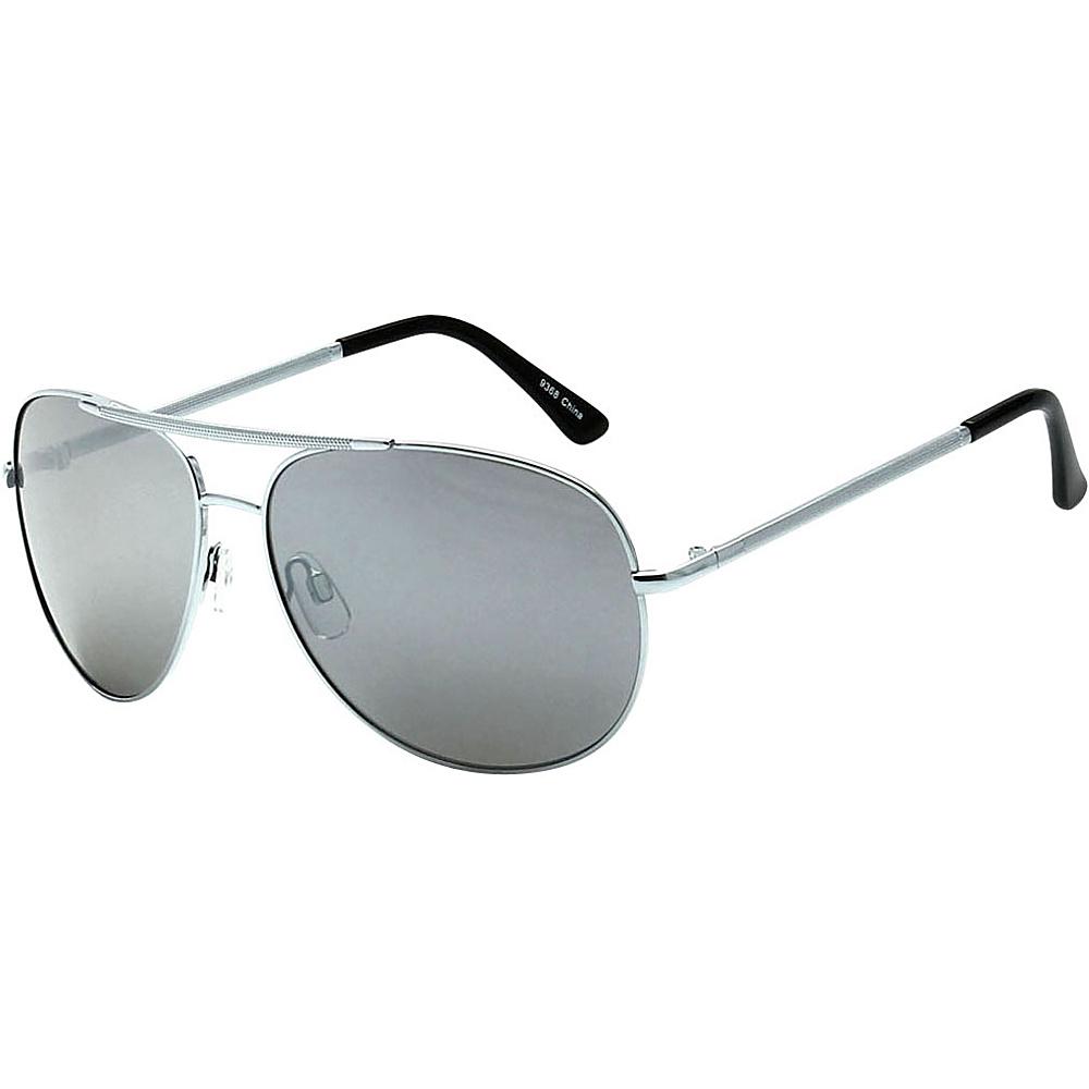 SW Global Showdown Aviator Sunglasses Silver - SW Global Eyewear - Fashion Accessories, Eyewear