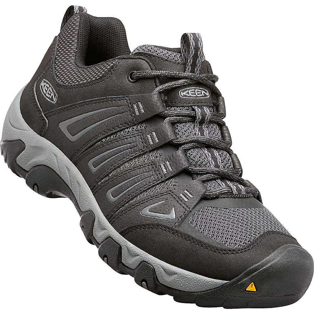 KEEN Mens Oakridge Boot 11.5 - Black/Gargoyle - KEEN Mens Footwear - Apparel & Footwear, Men's Footwear