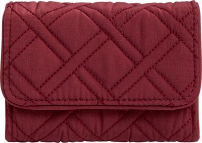 Vera Bradley RFID Riley Compact Wallet-Solids Hawthorn Rose - Vera Bradley Women's Wallets