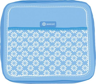 Squeeze Pod Toiletry Organizer Light Blue - Squeeze Pod Lightweight Packable Expandable Bags
