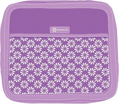 Squeeze Pod Toiletry Organizer Purple - Squeeze Pod Lightweight Packable Expandable Bags