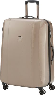 Titan Bags Xenon Deluxe 29 inch Hardside Checked Spinner Luggage Champagne - Titan Bags Large Rolling Luggage