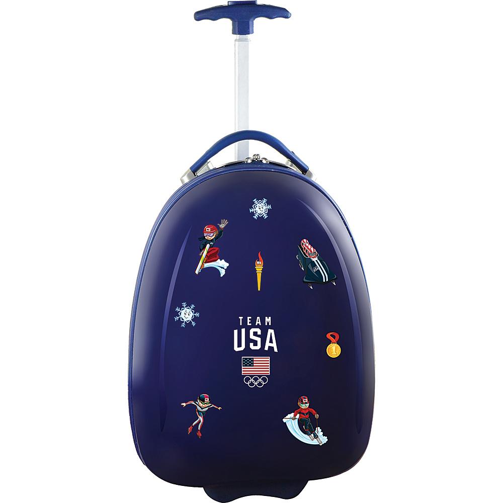 MOJO Denco Team USA Olympics 18 Kids Carry-On Luggage Pod Navy - MOJO Denco Kids Luggage - Luggage, Kids' Luggage