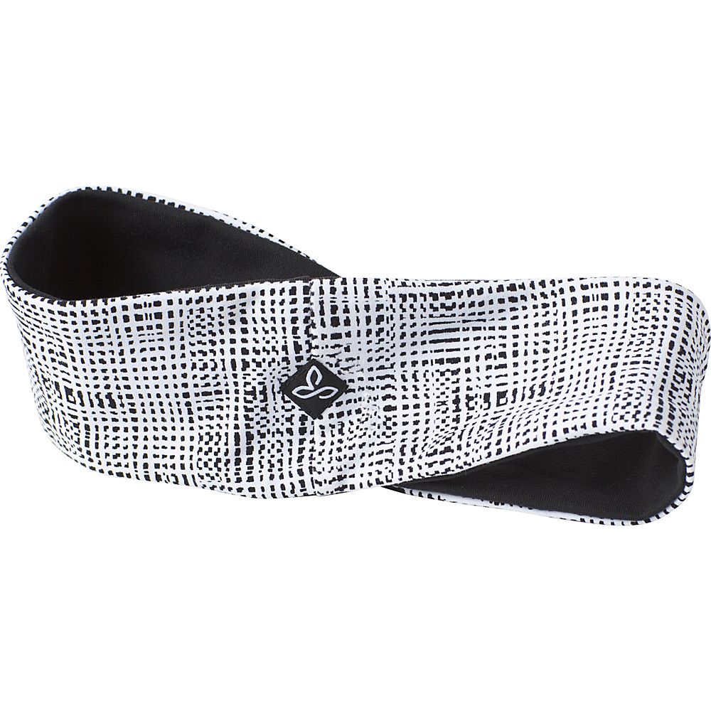 PrAna Reversible Headband One Size - White Print - PrAna Hats - Fashion Accessories, Hats