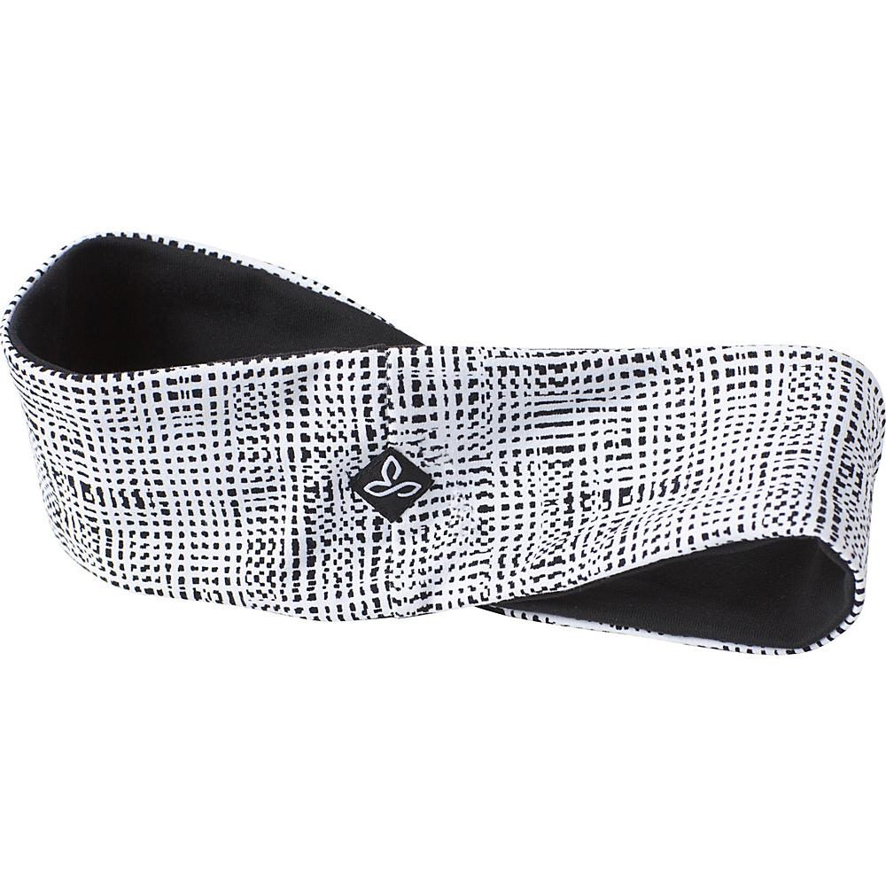 PrAna Reversible Headband One Size - White Print - PrAna Hats - Fashion Accessories, Hats