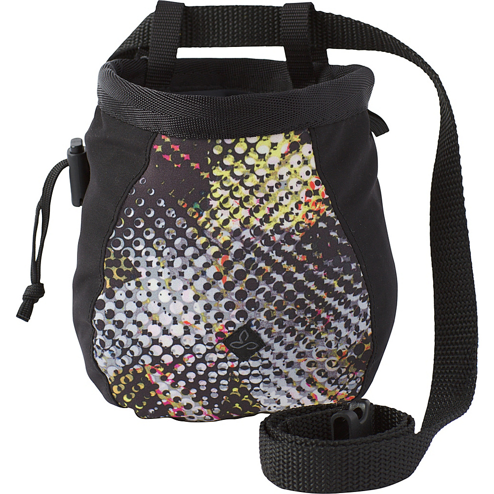 PrAna Large Womens Chalk Bag w/Belt Black Digi Flower - PrAna Sports Accessories - Sports, Sports Accessories