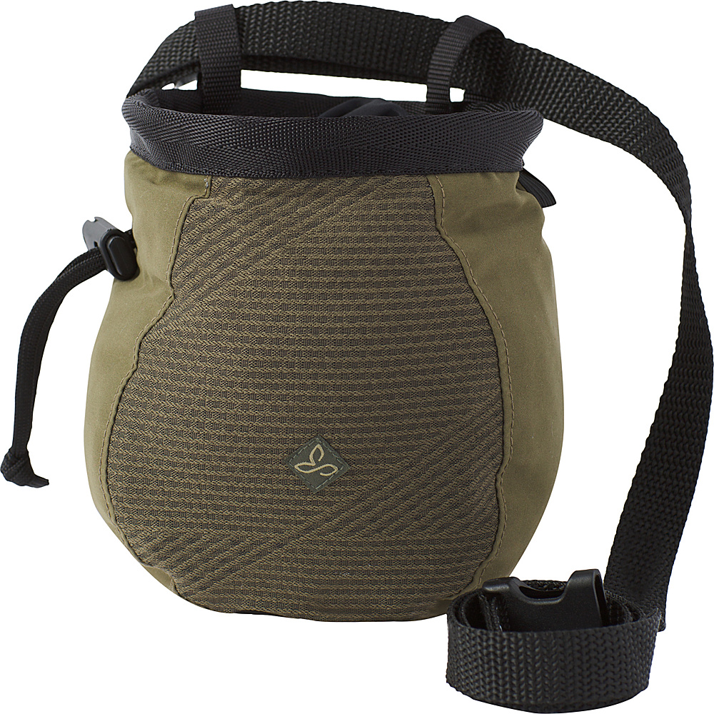 PrAna Large Womens Chalk Bag w/Belt Cargo Green Geo - PrAna Sports Accessories - Sports, Sports Accessories