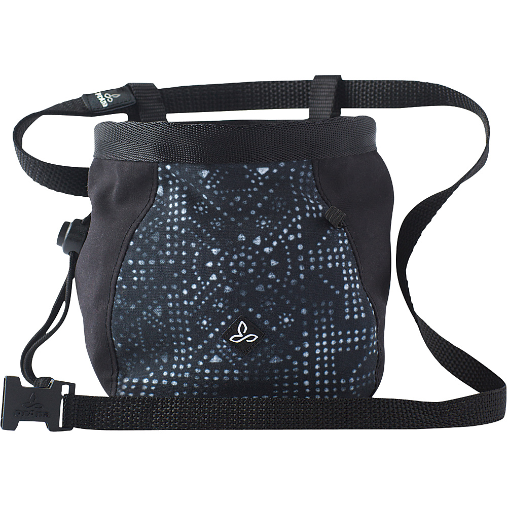 PrAna Large Womens Chalk Bag w/Belt Black Mosaic - PrAna Sports Accessories - Sports, Sports Accessories