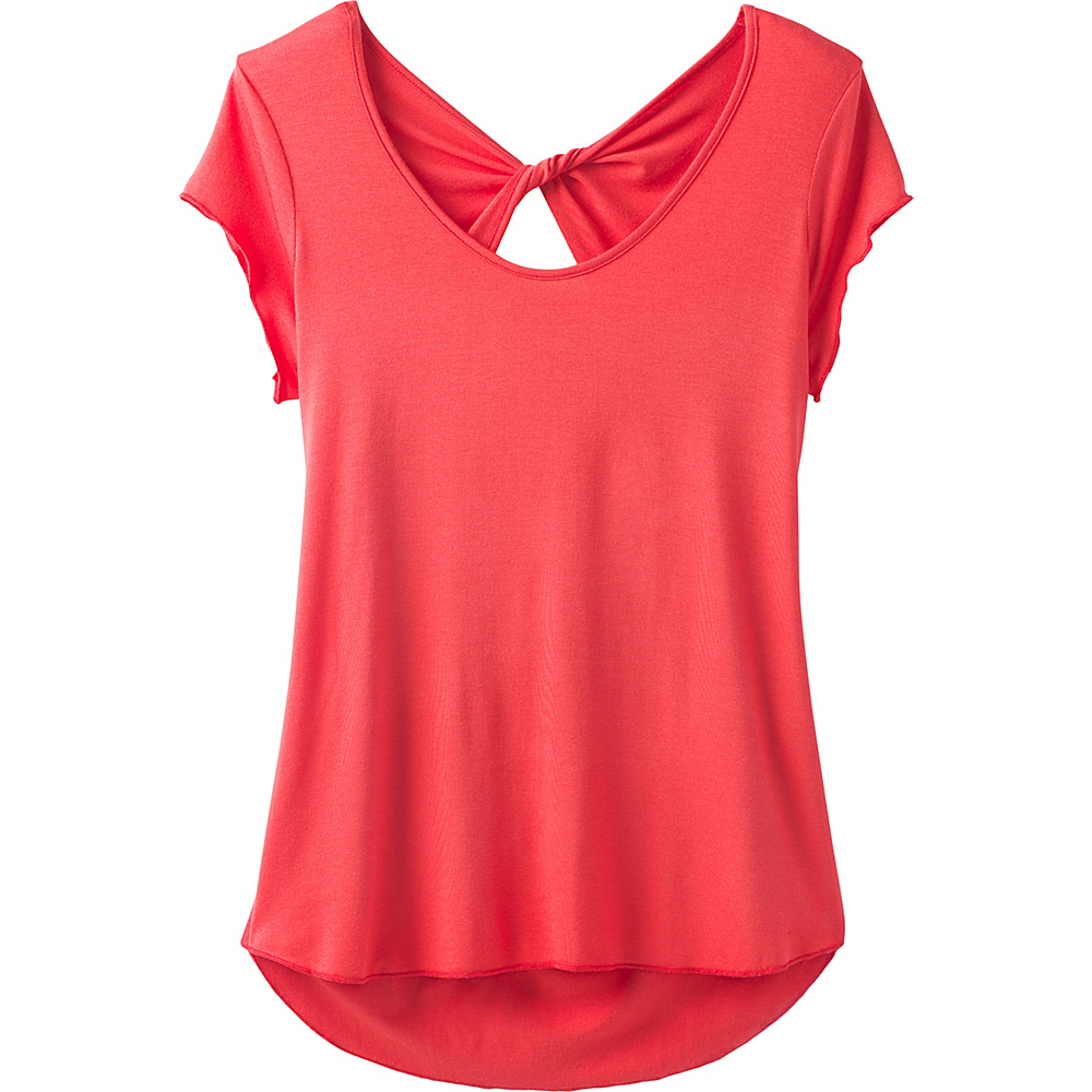 PrAna Willow Top M - Fiery Red - PrAna Womens Apparel - Apparel & Footwear, Women's Apparel
