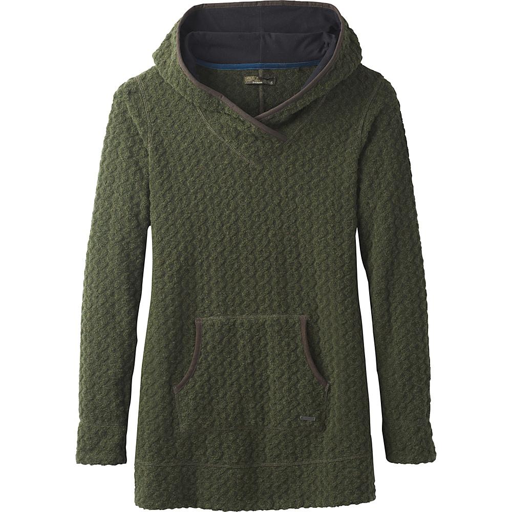 PrAna Sybil Sweater L - Cargo Green - PrAna Womens Apparel - Apparel & Footwear, Women's Apparel