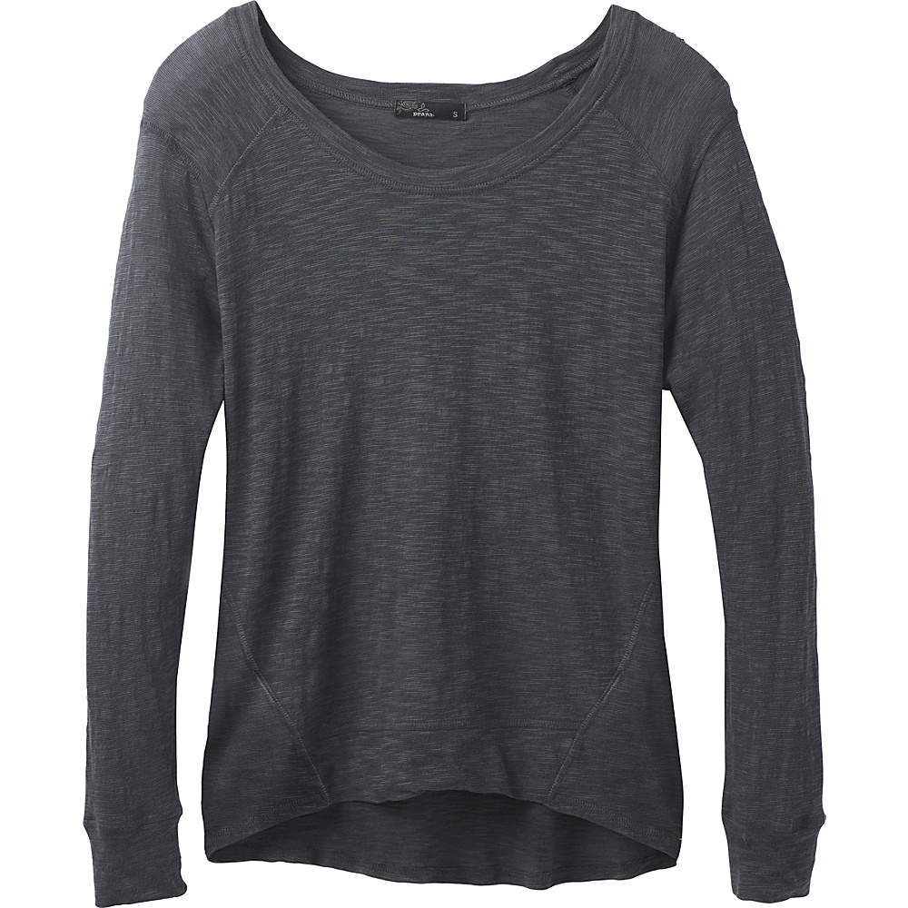 PrAna Fallbrook Sheer Top XL - Coal - PrAna Womens Apparel - Apparel & Footwear, Women's Apparel