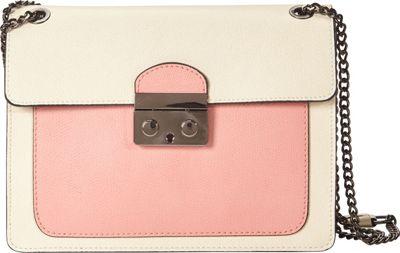 Markese Crossbody Beige-Rose - Markese Leather Handbags