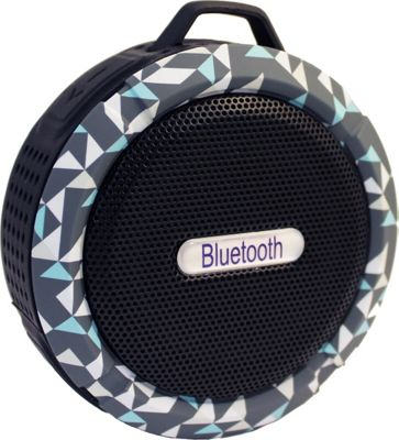 Yell by Voguestrap Fashion Printed Water Resistant Suction Bluetooth Speaker Green - Yell by Voguestrap Headphones & Speakers