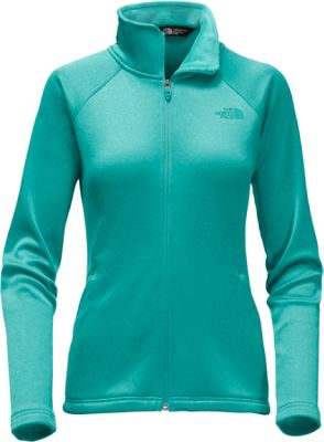 The North Face Womens Agave Full Zip XXL - Harbor Blue Heather - The North Face Women's Apparel