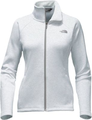 The North Face Womens Agave Full Zip XXL - TNF Light Grey Heather/Mid Grey - The North Face Women's Apparel