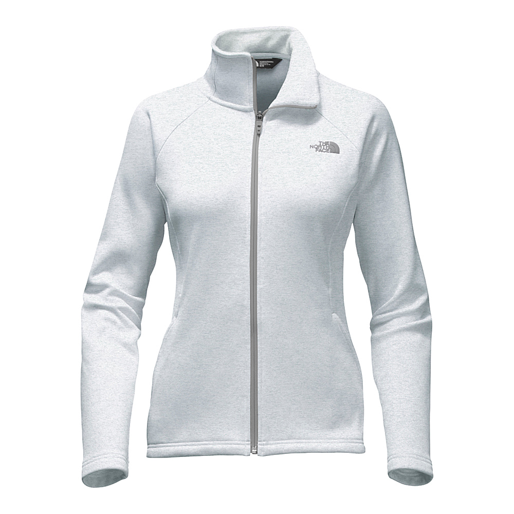 The North Face Womens Agave Full Zip XXL - TNF Light Grey Heather/Mid Grey - The North Face Womens Apparel - Apparel & Footwear, Women's Apparel