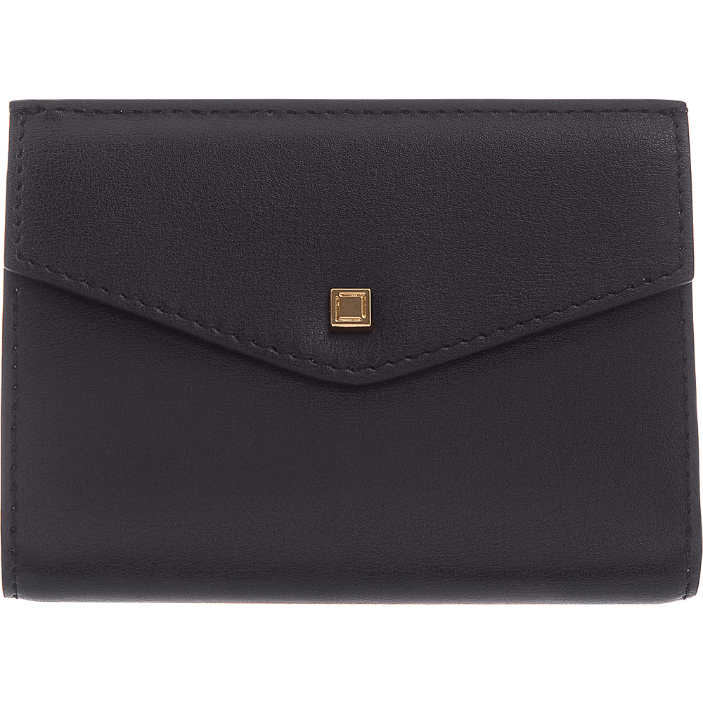 Lodis Silicon Valley RFID Rachel French Purse Black/ Taupe - Lodis Womens Wallets - Women's SLG, Women's Wallets