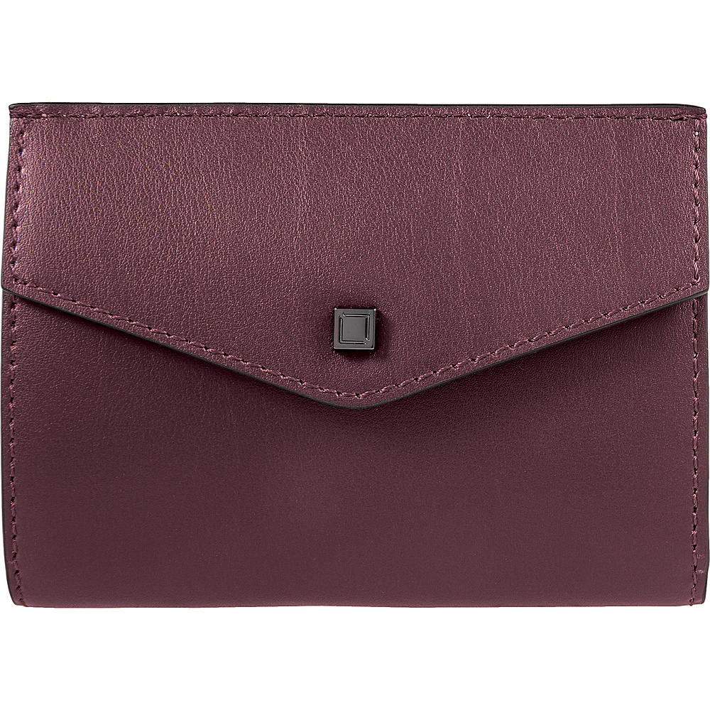 Lodis Silicon Valley RFID Rachel French Purse Chianti/Taupe - Lodis Womens Wallets - Women's SLG, Women's Wallets