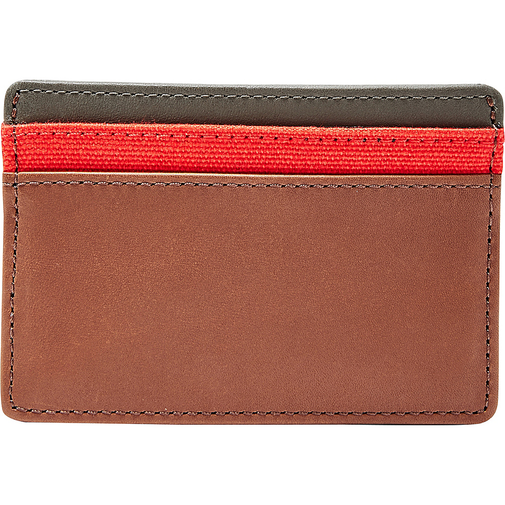 Fossil Booker Card Case Cognac - Fossil Mens Wallets - Work Bags & Briefcases, Men's Wallets
