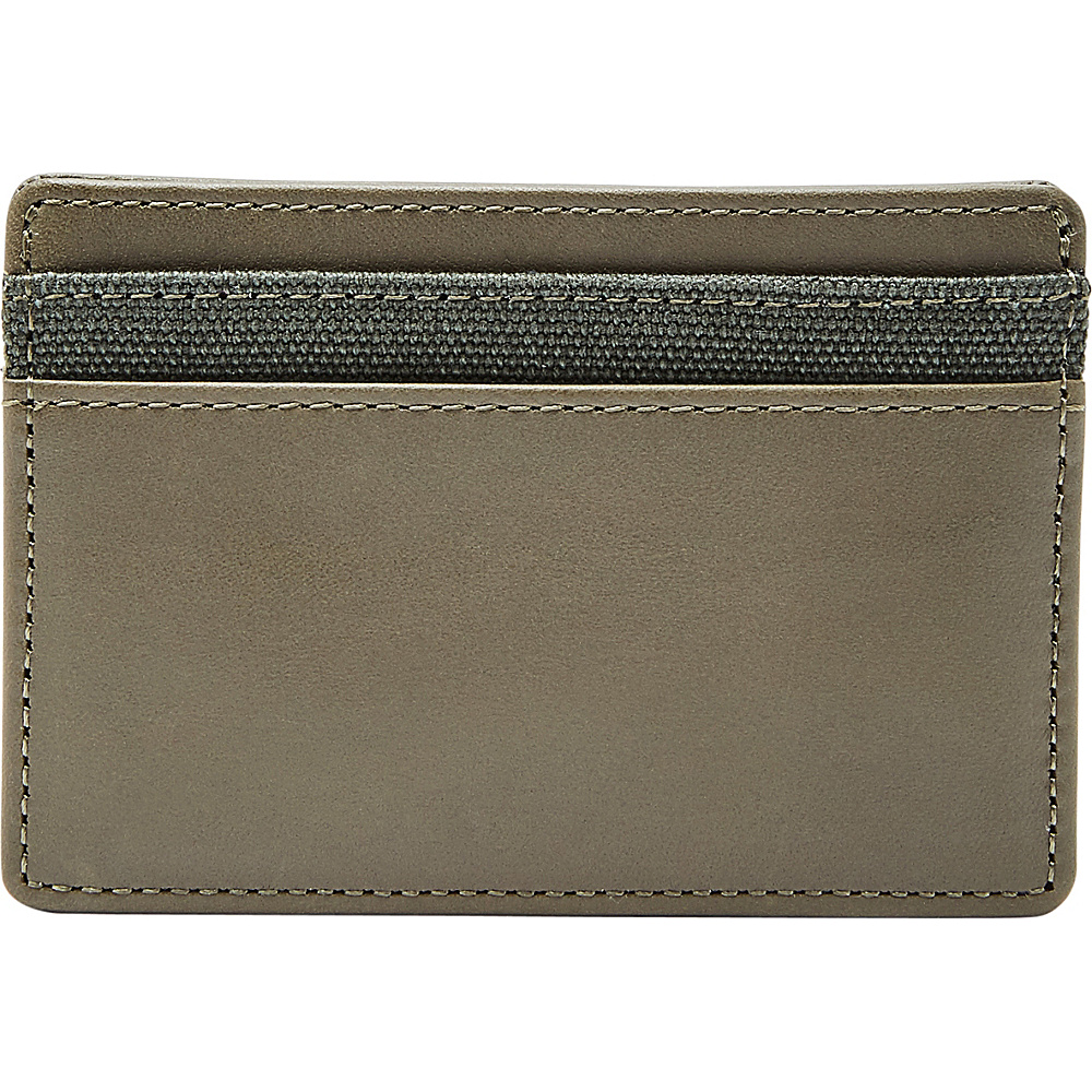 Fossil Booker Card Case Green - Fossil Mens Wallets - Work Bags & Briefcases, Men's Wallets