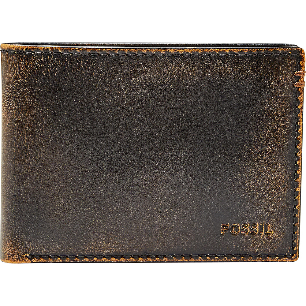 Fossil Wade Bfiold Black - Fossil Mens Wallets - Work Bags & Briefcases, Men's Wallets